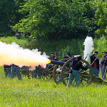 GCV&M Civil War Rrenactment Cannon - 2015